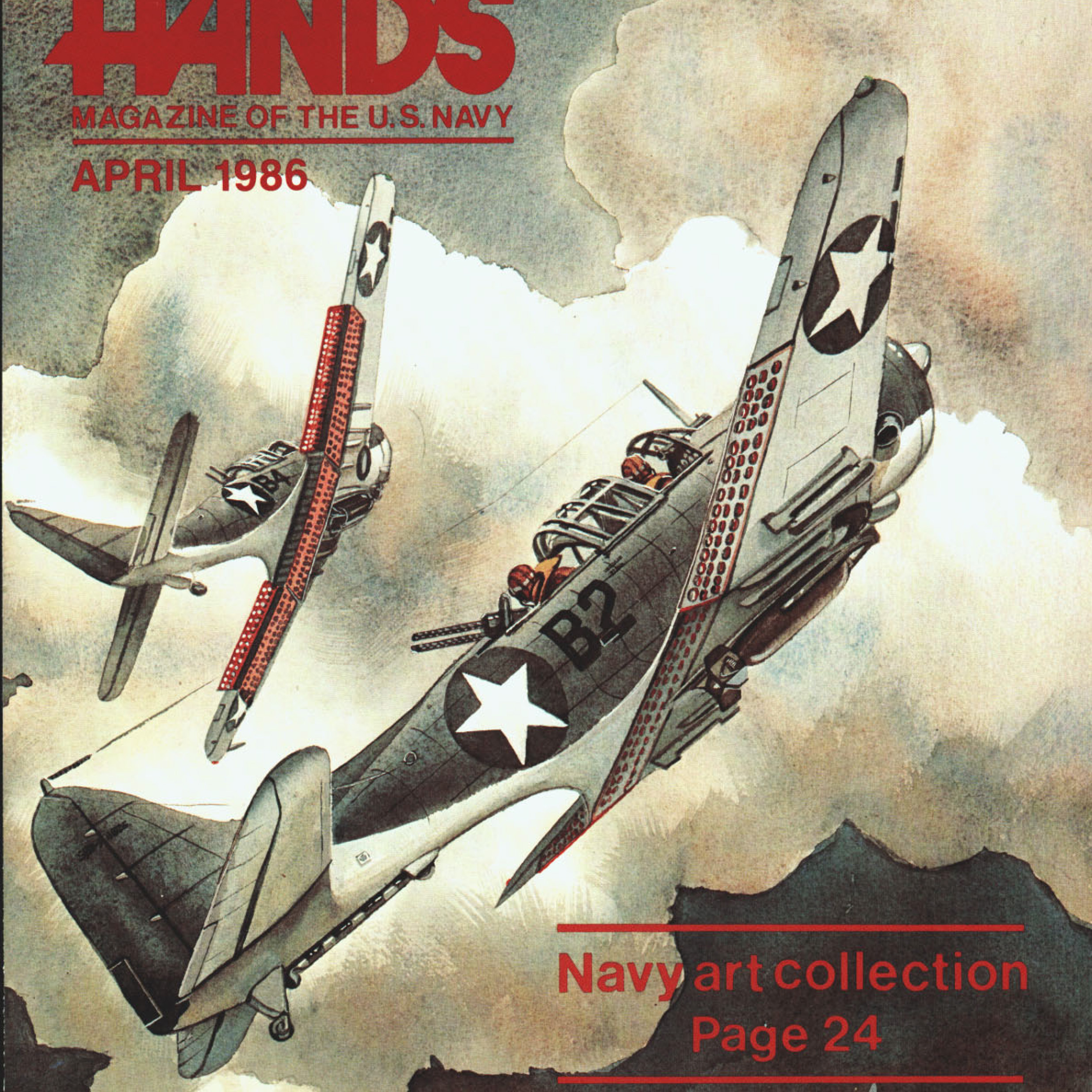 Image of vintage magazine artwork